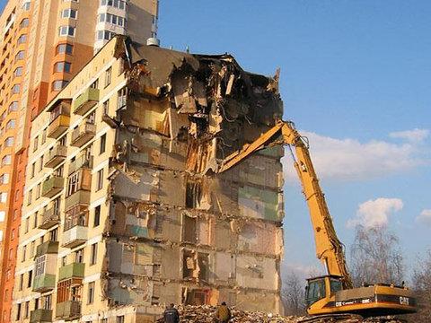 В Москве снесут 35 пятиэтажек
