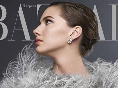 Внучка Одри Хепберн попала на обложку журнала