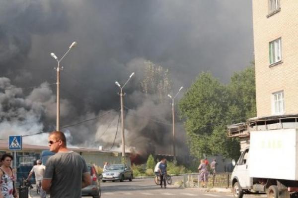 Артиллерия Украины обстреливает центр Донецка