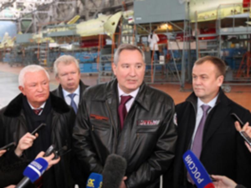 Зампред Правительства РФ Дмитрий Рогозин посетил Иркутский авиазавод