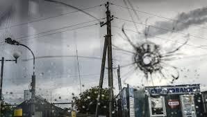 Артиллерия обстреливает Донецк