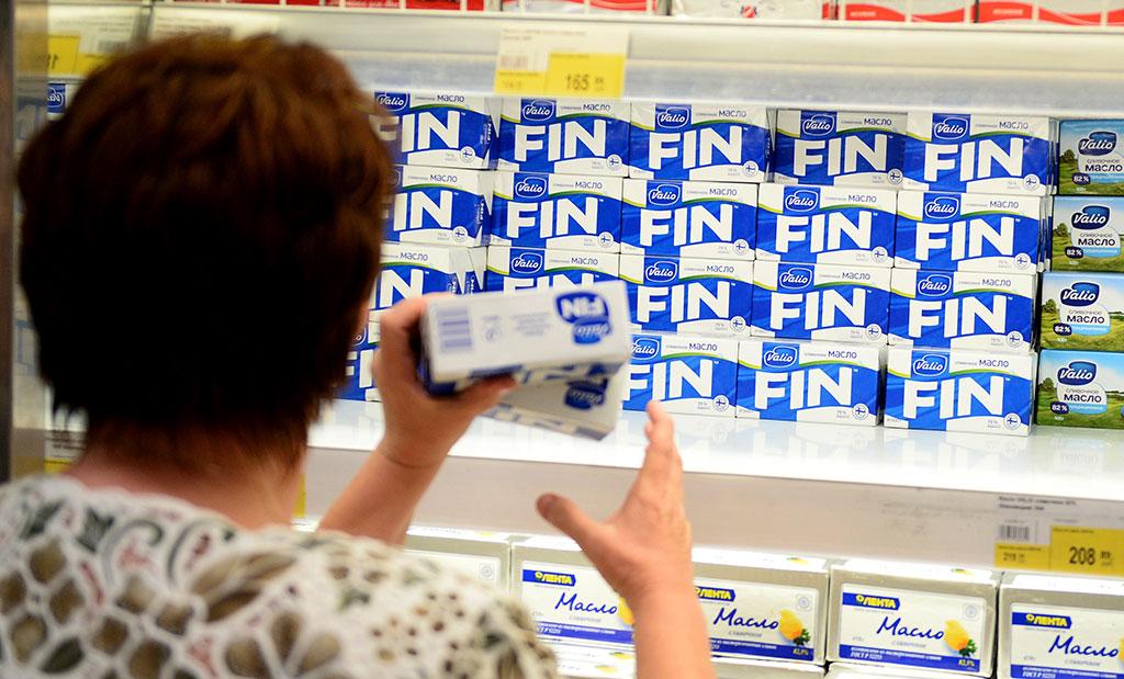 Финны раскупают дешевое «путинское» масло