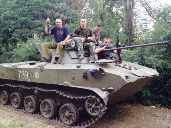 Под Антрацитом ополченцы ЛНР окружили части украинской армии