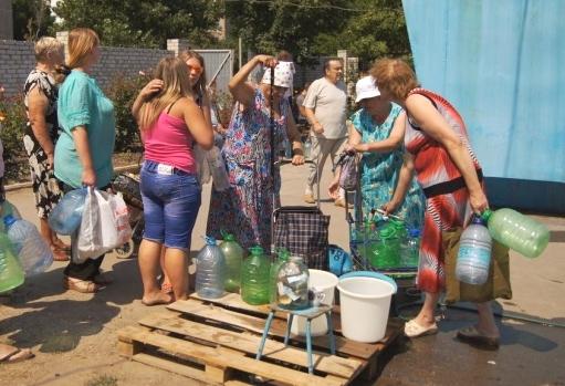 Луганск на грани гуманитарной катастрофы