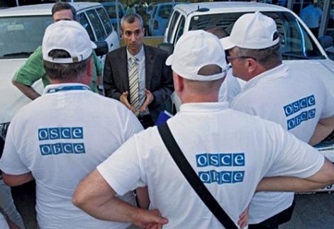 ОБСЕ: обстрелов Украины со стороны России не было