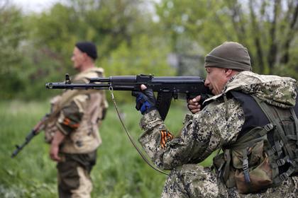 Ополченцы Новороссии выбили силовиков из Миусинска