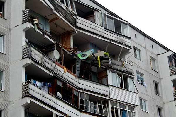 Пьяный житель Санкт-Петербурга взорвал свою квартиру и соседей заодно