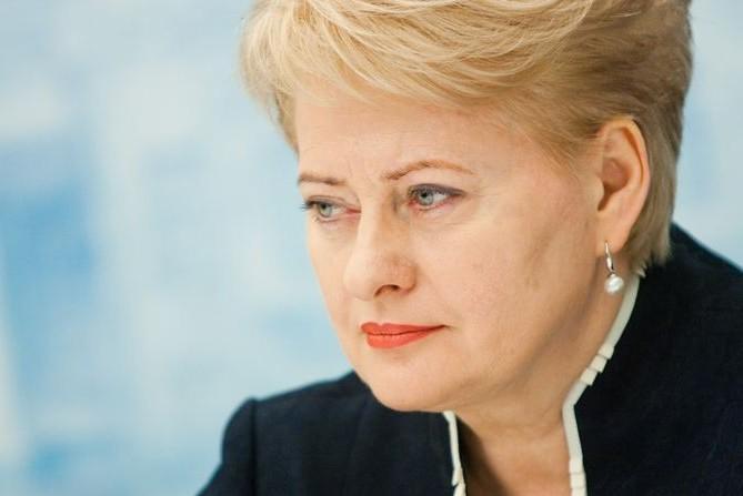 Президент Литвы заявила, что Россия выступает против Европы