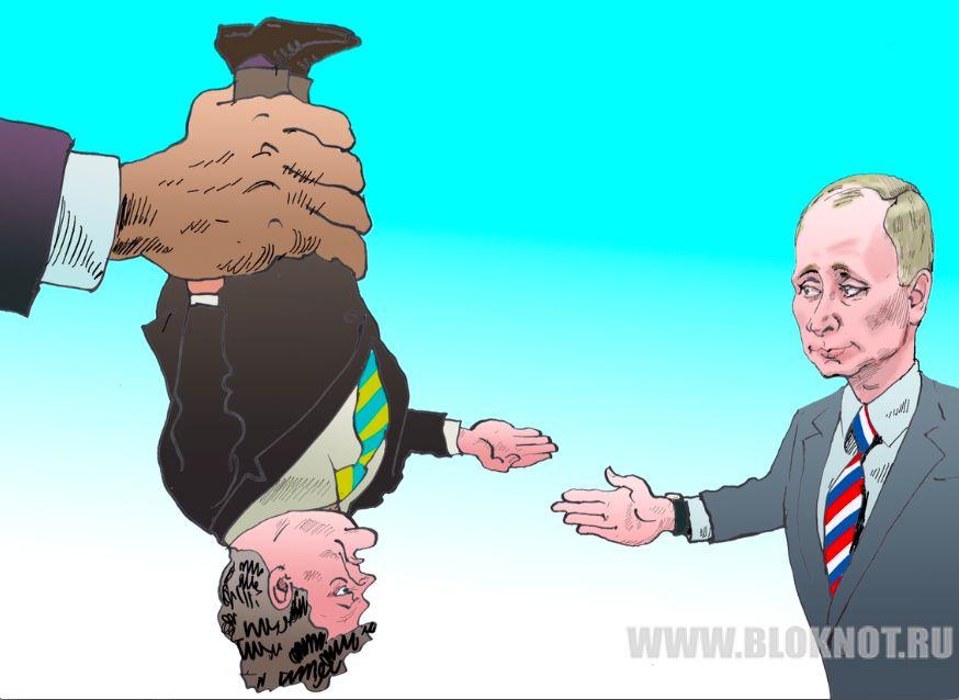 Путин и Порошенко пожали руки: встреча