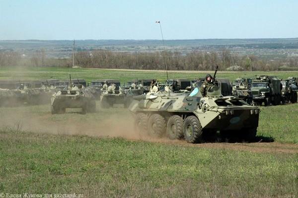 Россию обвинили в состредоточении 20 тысяч солдат на границе с Украиной