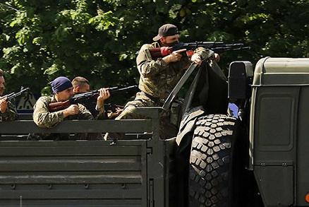 Ополченцы уничтожили подразделение карательного батальона «Днепр» в Запорожье