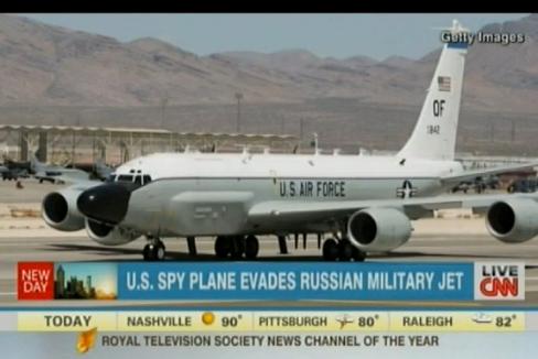 CNN: США не ожидали, что Россия вычислит их самолет-разведчик