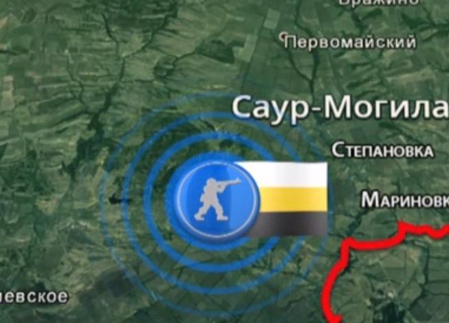 Ополченцам удалось выбить силовиков из сел Степановка и Мариновка