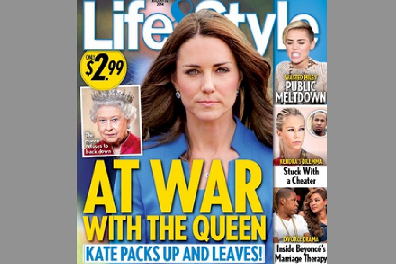 Кейт Миддлтон  в пух и прах разругалась с королевой Елизаветой II