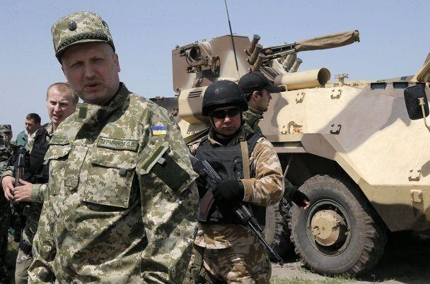 Украина нуждается в военной помощи Запада - Турчинов