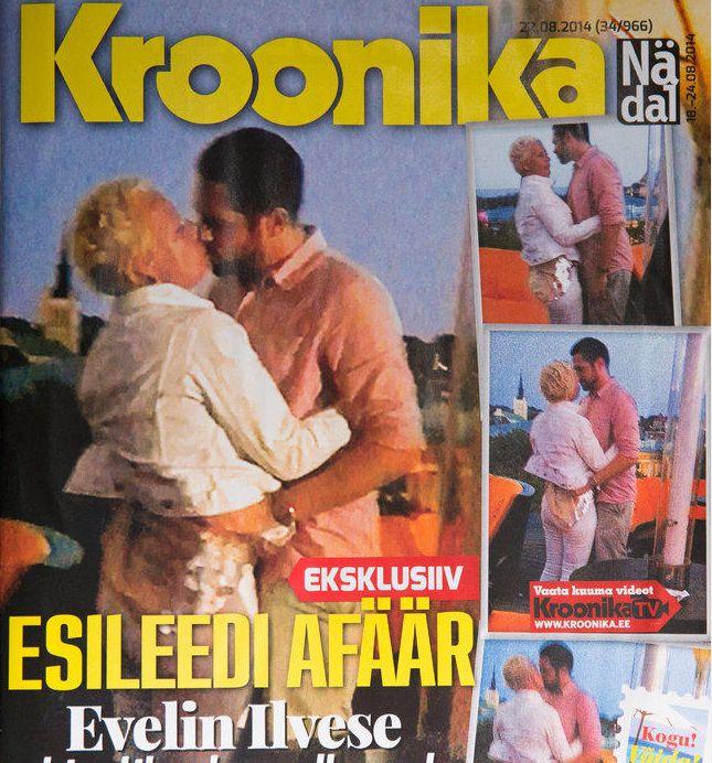СМИ уличили первую леди Эстонии в супружеской измене с молодым парнем