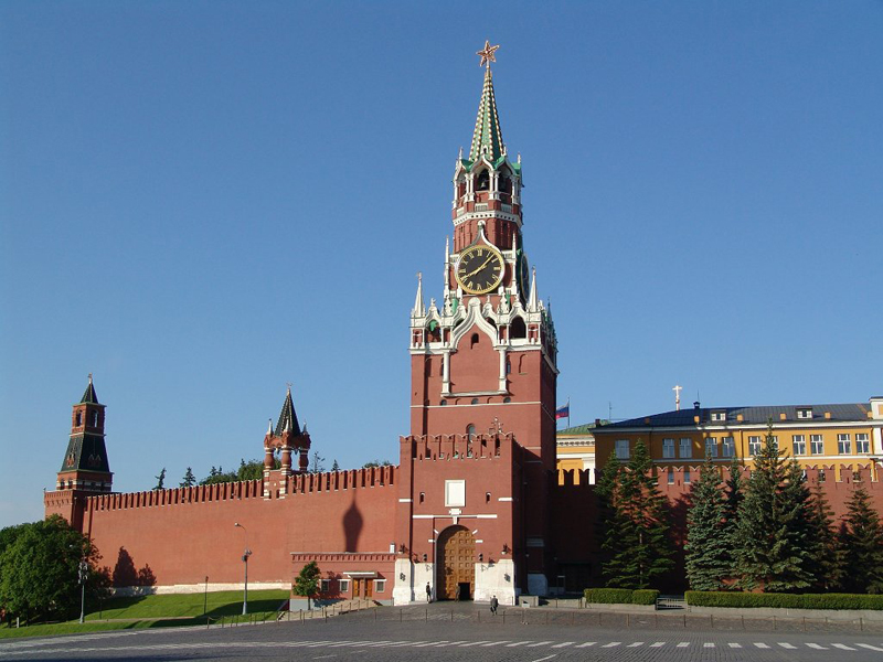 Спасская башня открыта для туристов