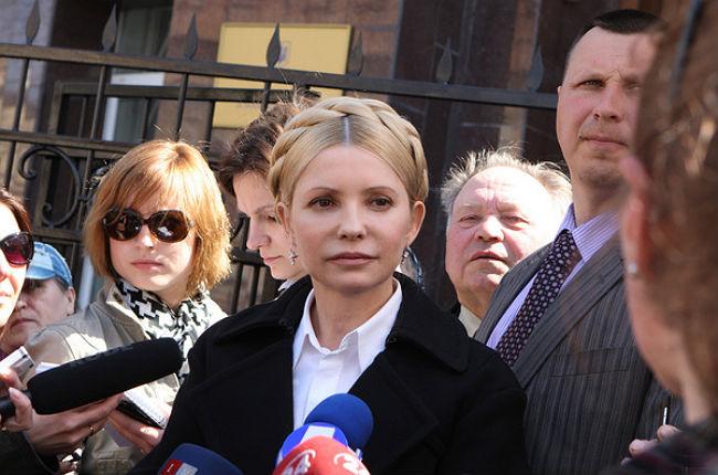Юлия Тимошенко требует от Порошенко ввести чрезвычайное положение