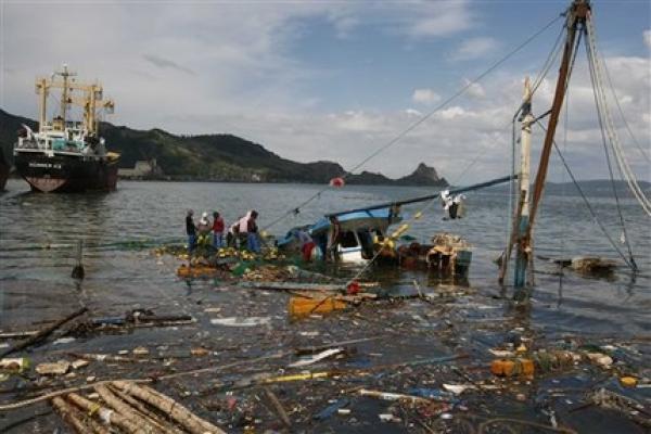 В Бенгальском заливе пропали 40 рыболовных траулеров и 640 рыбаков