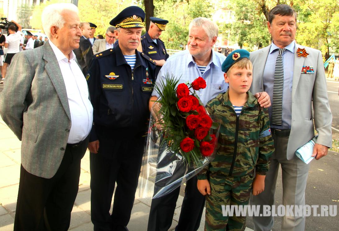 Фоторепортаж с празднования Дня ВДВ в Москве