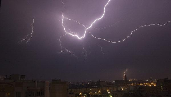 В Москве сегодня выпадет град