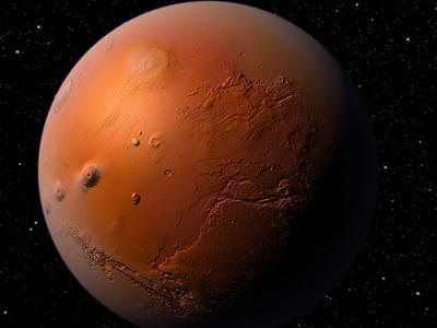Жизнь на Марсе могла погибнуть во время столкновения с крупным небесным телом 1 миллиард 300 миллионов лет назад