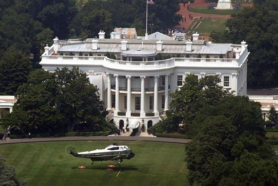 Маленький ребенок напугал Белый дом
