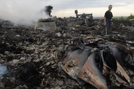 В Харьков привезли останки погибших при крушении малайзийского Boeing