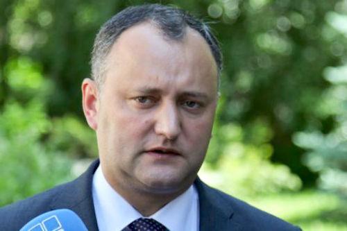 Игорь Додон: «Молдова появилась не сегодня и не вчера – это многовековое государство»