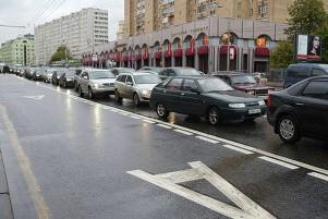 Протяженность выделенных полос в Москве в 2014 году вырастет на 28 км