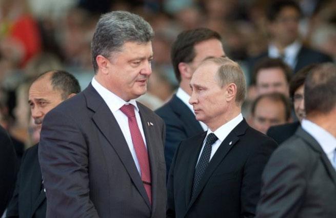 Путин и Порошенко встретились тет-а-тет