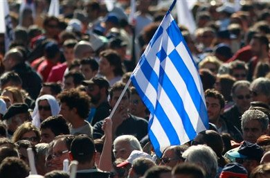 Греческая оппозиция пеняет на власти страны за санкции против России