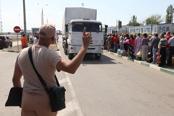 Гуманитарный конвой в полном составе вернулся в Россию