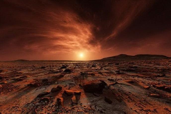 НАСА будет производить кислород на Марсе