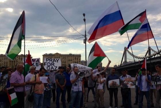 В Москве 6 августа пройдет митинг в поддержку палестинского народа