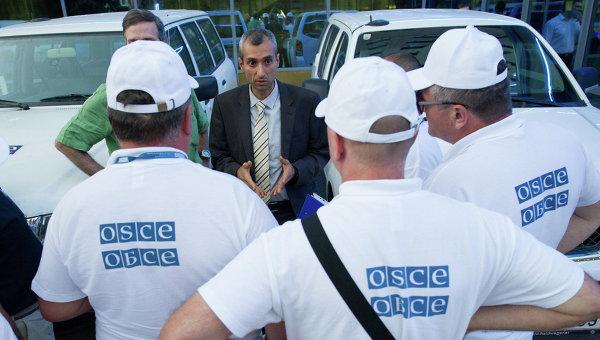 Наблюдатели ОБСЕ не фиксировали перемещений вооружений через границу России и Украины