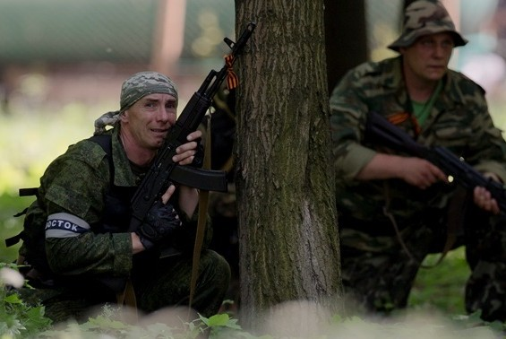 Ополченцы Донбасса пошли в атаку