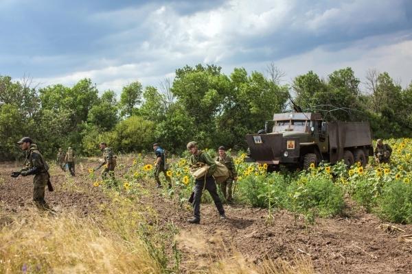 Ополченцы уничтожили несколько десятков военнослужащих армии Украины возле Дебальцево