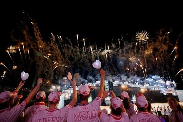 Церемония открытия вторых летних Юношеских Олимпийских Игр 2014. Прямая трансляция
