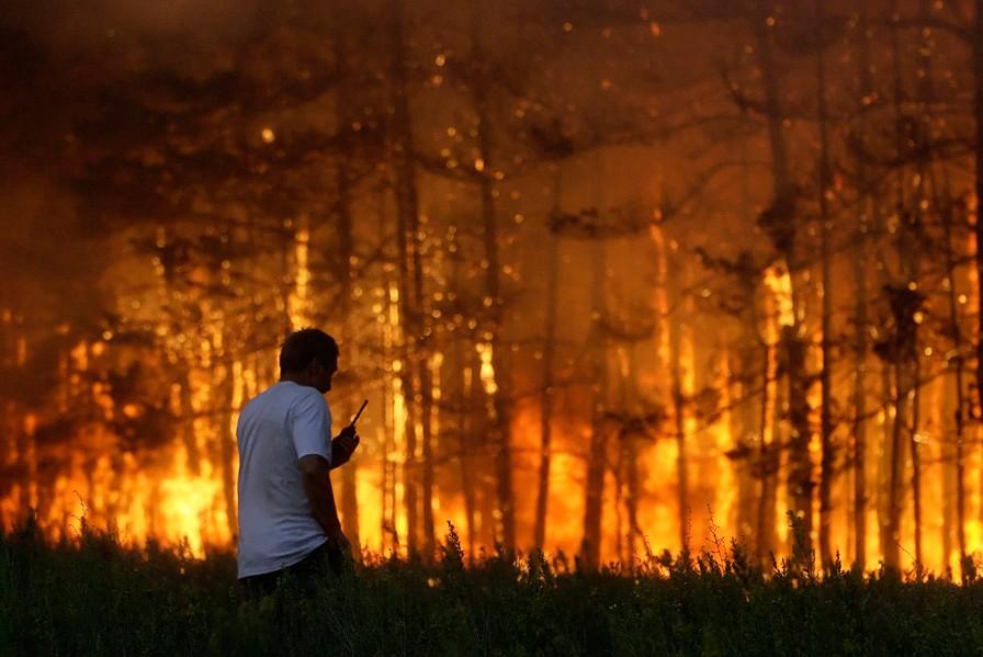 Особый противопожарный режим введен на территории 14 регионов Центральной России