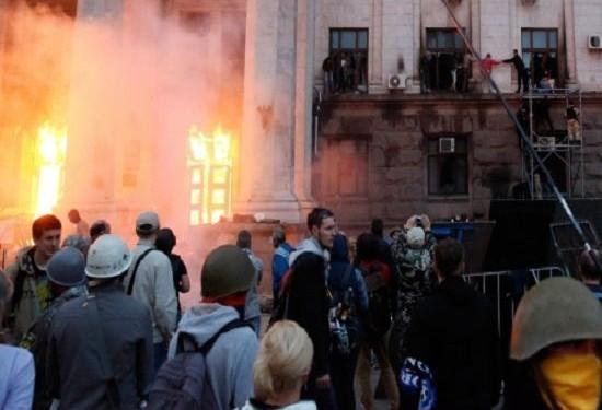 Киев обвинил жертв трагедии в Одессе в организации беспорядков