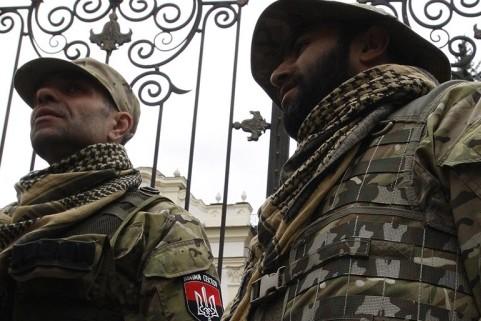 В МВД Украины намерены начислять льготы карателям Правого сектора