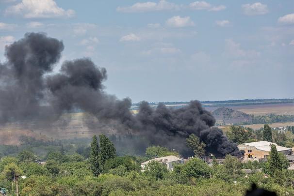 Пятеро ополченцев ранены в ходе боев под Шахтерском Донецкой области