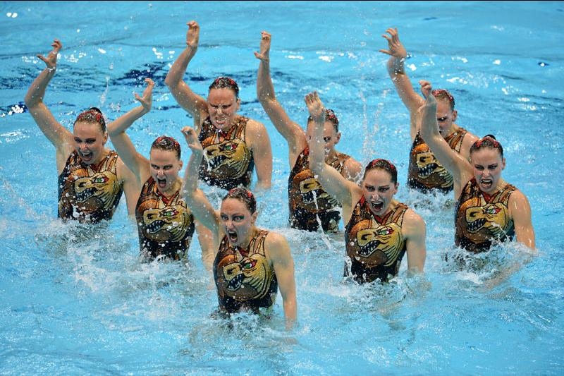 Сборная России по синхронному плаванию вновь стала лучшей на чемпионате Европы в Берлине