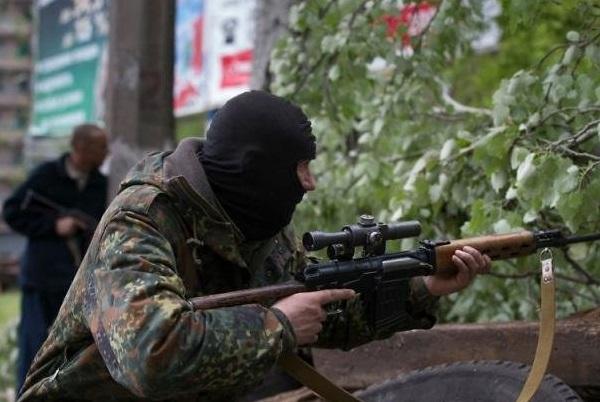 Ополченцы взяли в плен роту ВСУ под Амвросиевкой