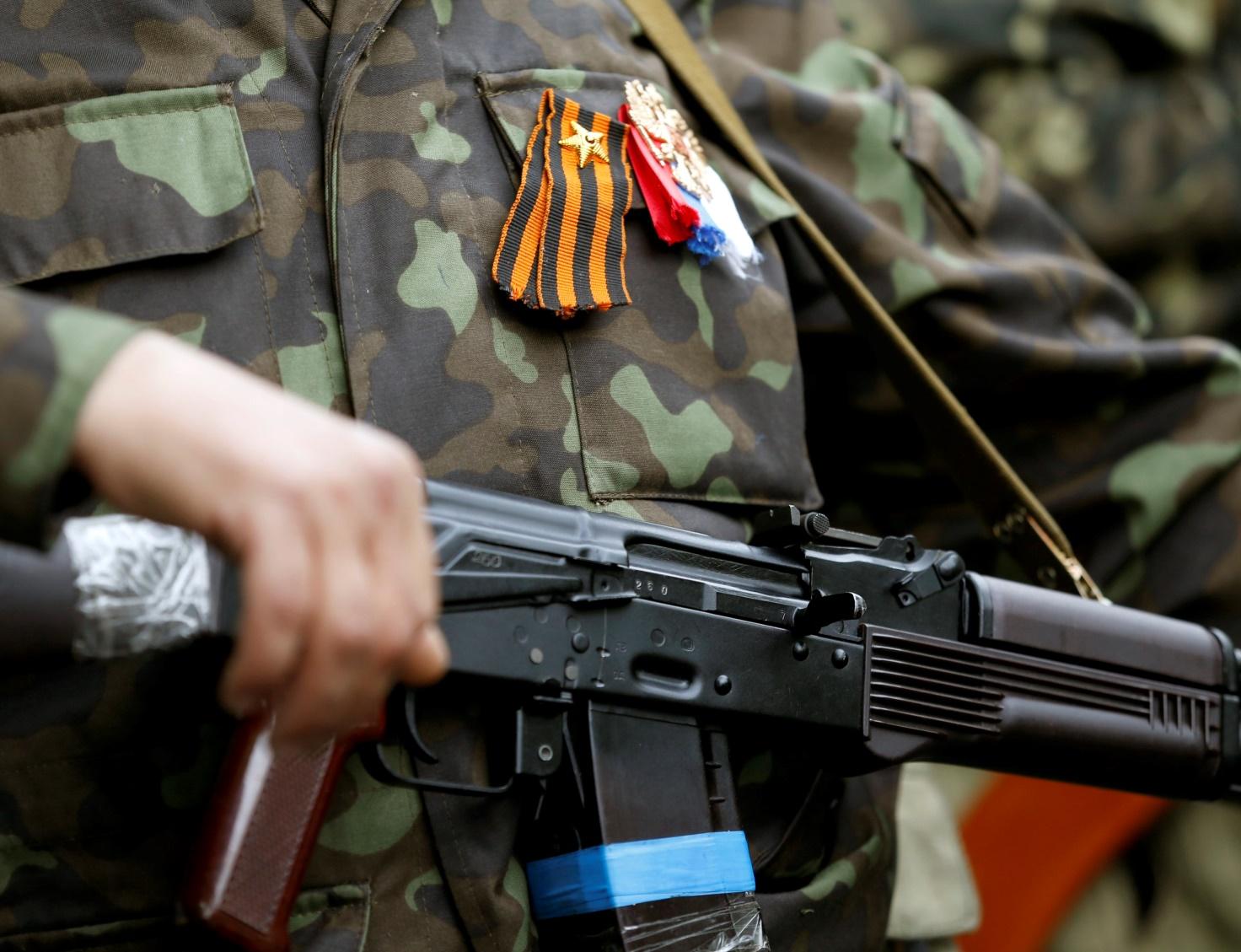 Ополченцы захватили 30-ю бригаду Нацгвардии Укранины