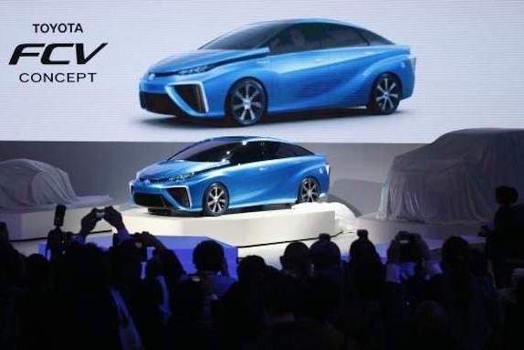 Япония развивает водородные автомобили