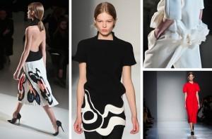 Viktoria Bekham Осенние модные тренды Нью-Йорка