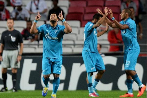 «Зенит» стартовал в Лиге чемпионов фееричной победой над «Бенфикой»