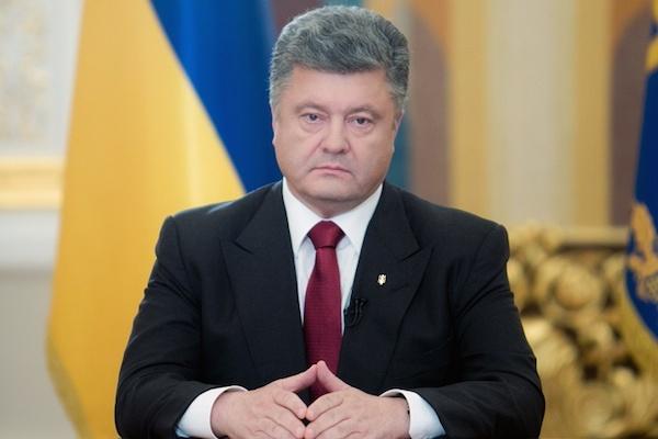 Порошенко приказал начальнику Генштаба Украины прекратить огонь с 19.00